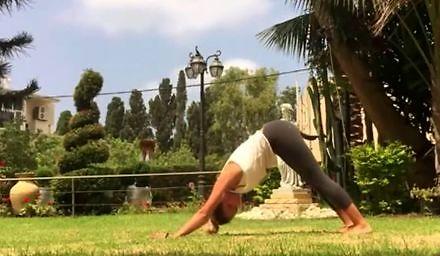 Cisza, spokój, park i joga