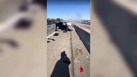 Śmiertelny wypadek w Tesli