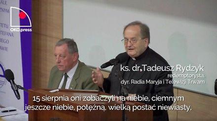 """Rydzyk, Szyszko, Bóg i polska husaria, czyli konferencja """"Jeszcze Polska nie zginęła"""""""