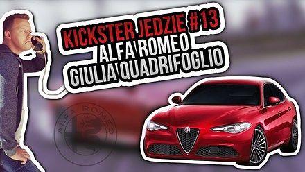 Alfa Romeo Giulia Quadrifoglio - Kickster jedzie #13