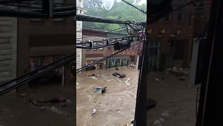 """W stanie Maryland mają """"mały"""" problem z powodzią"""
