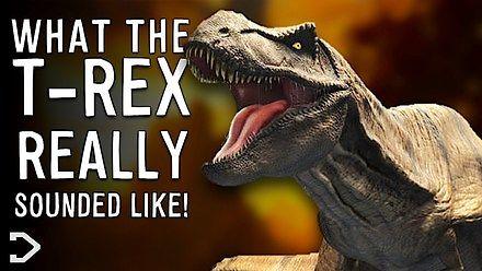 Jak naprawdę brzmiał T-Rex ?