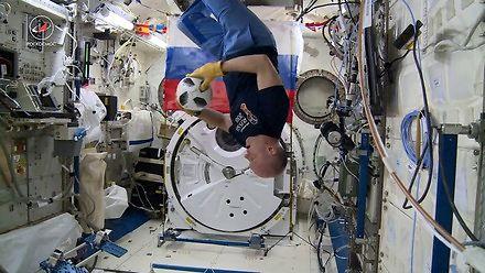 W rosyjskim kosmosie mundial już się zaczął