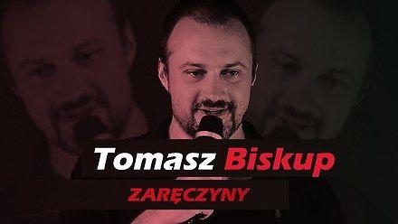 Tomek Biskup w stand-upie o knajpie i zaręczynach