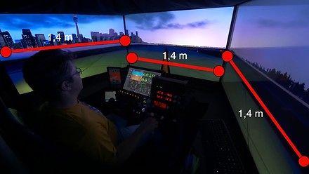 Nowoczesny symulator lotów