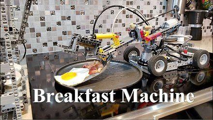 Masz dość robienia śniadań? Ten robot z klocków LEGO zrobi je za ciebie