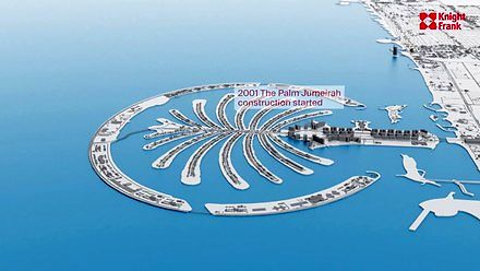 Ewolucja Dubaju od 1960 do 2021- timelapse