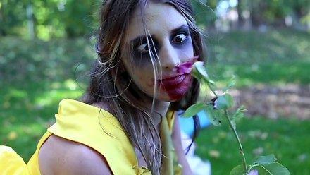 Księżniczki Disneya zamienione w zombie