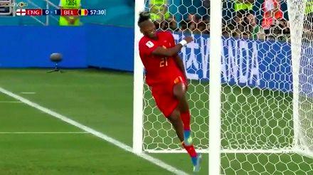 Batshuayi nokautuje samego siebie w meczu z Anglią