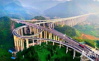Najwyższy węzeł drogowy na świecie