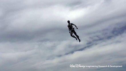 Droid kaskader od Disneya wyręcza ludzi