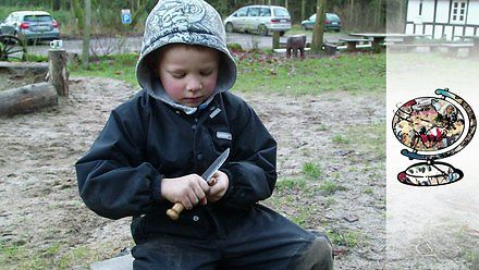 Leśne przedszkole w Danii