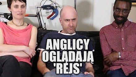 Anglicy oglądają Rejs