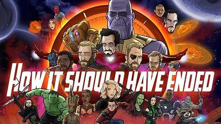 """Jak powinien był się zakończyć film """"Avengers: Infinity Wars"""""""