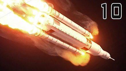 10 katastrof podczas startów rakiet