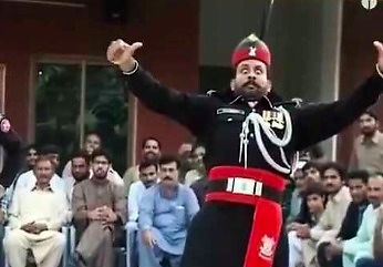 Armia pakistańska - pokaz musztry