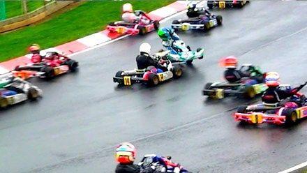 Niezwykle wciągający wyścig w grupie 8-13 lat