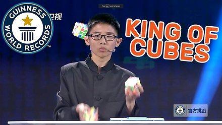 Niesamowity wyczyn młodego Chińczyka - króla kostek