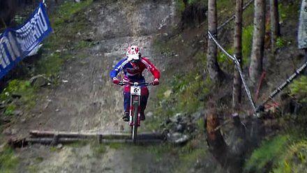 Ekstremalny downhill w koszmarnych warunkach