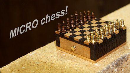 Jak zrobić mini szachy?