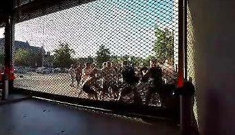 Kiedy bydło spotyka się pod stadionem