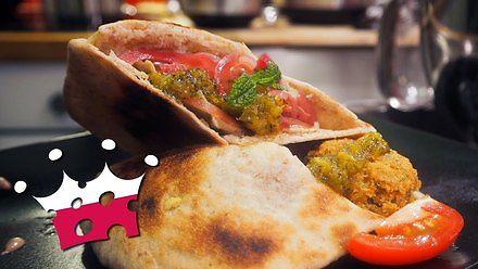 Food Emperor - Skomplikowany halalski hipsterski falafel