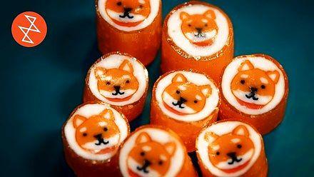 Cukierki Akita Dog