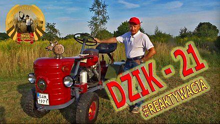 Remont i renowacja ciągnika Dzik - 21