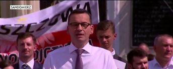 Premier w Sandomierzu - nieudolny skrót przemówienia