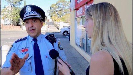 Dziennikarka postanowiła wejść do muzułmańskiej dzielnicy w Sydney