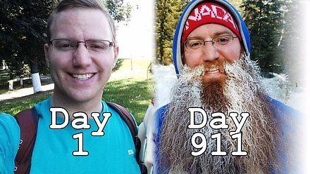 911 dni zapuszczania brody