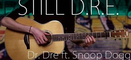 Dr. Dre - Still D.R.E. zagrane na gitarze w technice fingerstyle