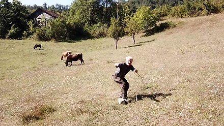 Mieszkaniec Podlasia po pierwszy widzi drona