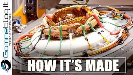Jak się robi silnik do samochodu elektrycznego ?