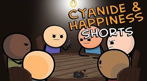 Cyanide & Happiness Shorts - Rosyjska ruletka