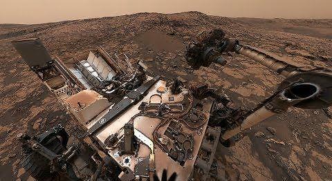 Obejrzyj Marsa i łazika Curiosity w 360 stopniach