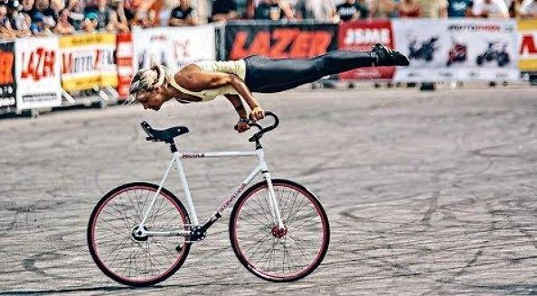 Gimnastyka na rowerze
