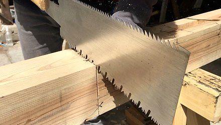 Jednoręczna, dwustronna wielozadaniowa piła do drewna Ryoba Nokogiri