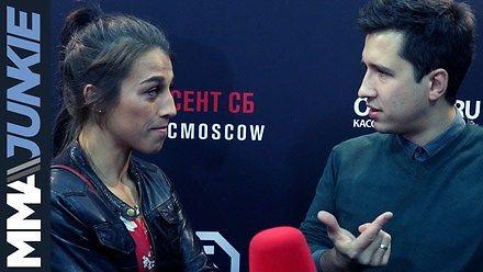 Joanna Jędrzejczyk niszczy rosyjskiego dziennikarza