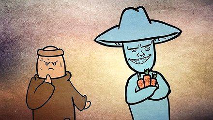 Historia o tym, jak mnich gonił złodzieja
