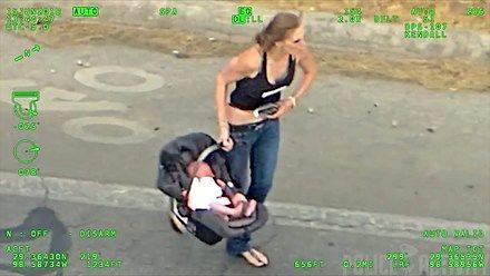 Prawdziwa 'madka' roku - uciekała przed policją