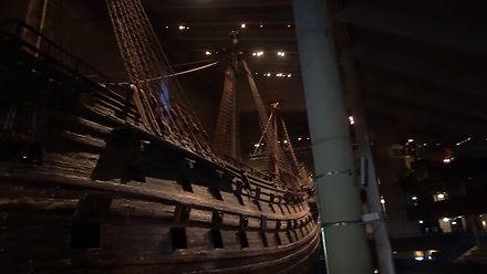 "Okręt wojenny ""Vasa"" z 1628 r."