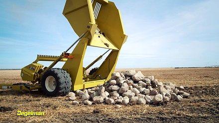 Przed tą maszyną nie ukryje się żaden kamień