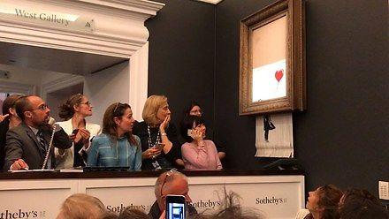 I za tę akcję szanuję Banksy'ego jeszcze bardziej!