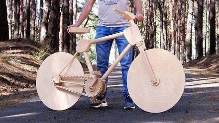 Jak zrobić drewniany rower w 200 godzin?