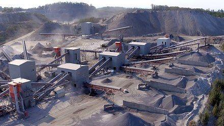 Kopalnia kruszywa - Fabryki w Polsce