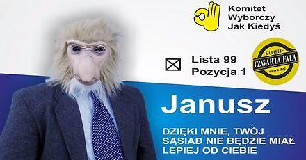 Janusz startuje w wyborach || Kabaret Czwarta Fala