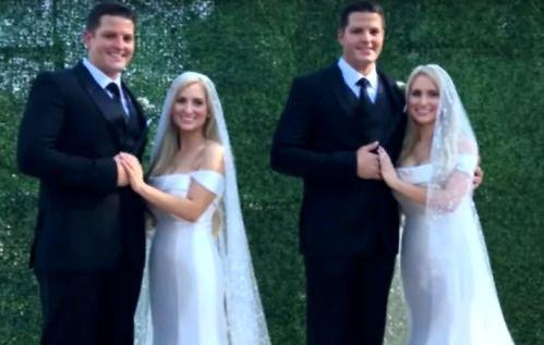 Bliźniaczki jednojajowe poślubiły jednojajowych braci