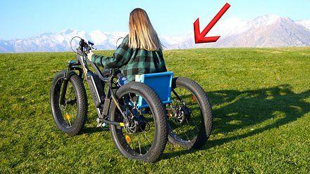 Elektryczny wózek (nie)inwalidzki od JerryRigEverything