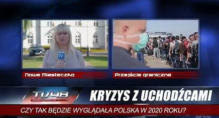 PiS w najnowszym spocie straszy uchodźcami. Czy tak będzie wyglądać Polska w 2020 roku?